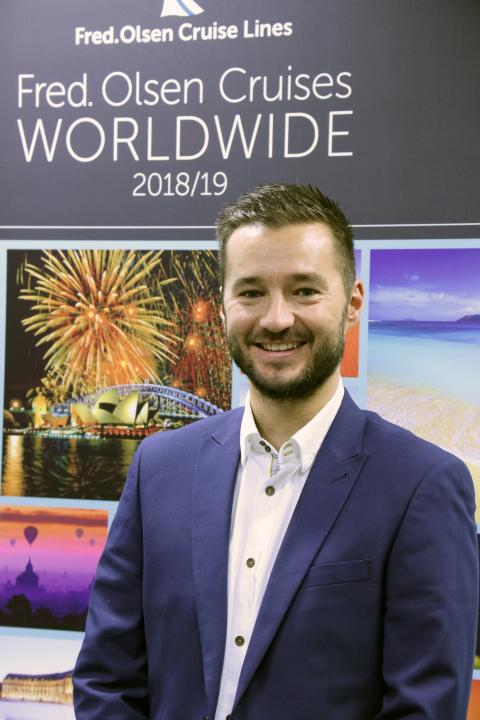 Fred. Olsen Cruise Lines' Ben Williams appointed as new Head of Marketing