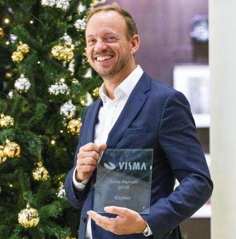 Exsitec utsett till årets partner av Visma Software