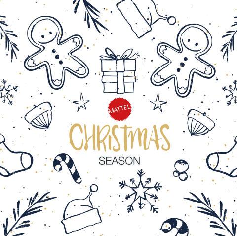 Mattel Christmas Season - Geschenkideen für den Weihnachtsbaum
