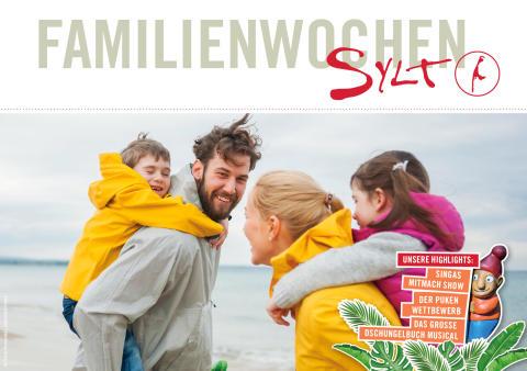 Familienwochen Sylt starten am 5. Oktober