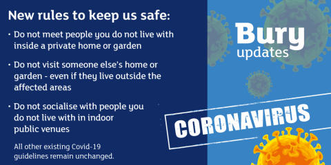 Follow the new guidance – keep us all safe
