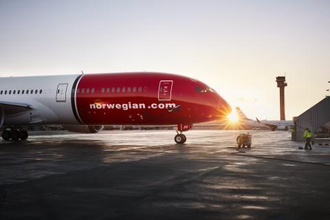 Norwegian crece un 11,6 % en Málaga este verano, con 1,45 millones de plazas en oferta.