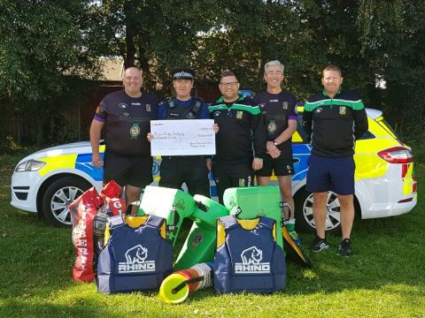 Bognor Rugby Academy secures police cash grant
