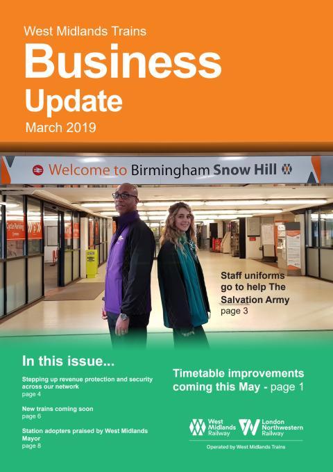 West Midlands Trains Business Update - March 2019
