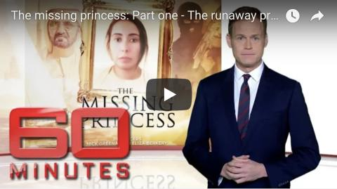 Australia demands UAE respond to world's questions about missing princess & travel warnings for Aussies