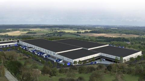 DSV builds integrated logistics centre in Stockholm, Sweden