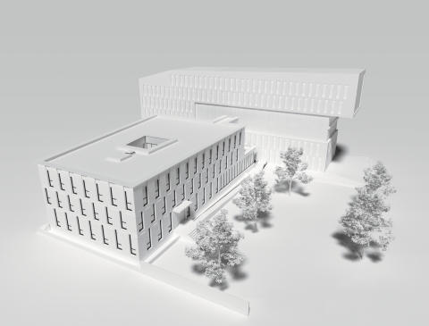 ZÜBLIN und STRABAG Konzernhaus Karlsruhe (Visualisierung)