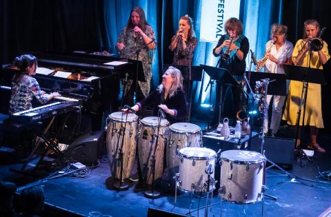 Marilyn Mazurs Shamania, Oslo Jazzfestival