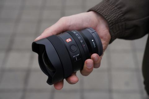 Sony anuncia el objetivo compacto ultra gran angular  FE 14MM F1.8 G Master™