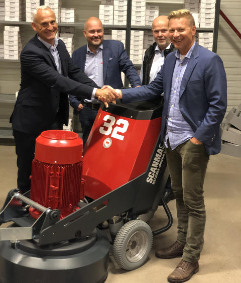 Normann Olsen Maskin AS becomes the main vendor for Scanmaskin in Norway.