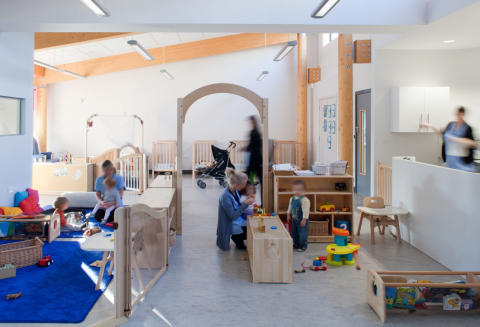 Nursery building wins Lord Mayor's Design Award