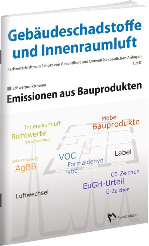 Emissionen aus Bauprodukten 1/2017 (3D/tif)