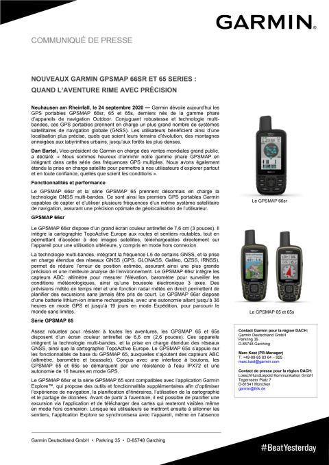 CP Garmin GPSMAP 65/65s/66sr