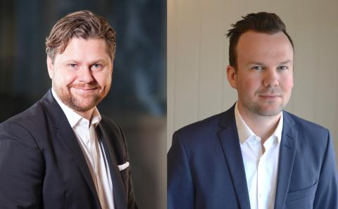 Pål Rune Kaalen og Håkon Lofthus