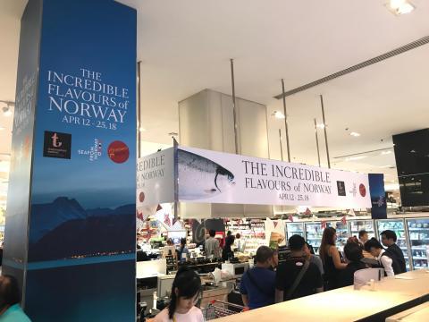 Eksklusiv norsk sjømat i Thailand