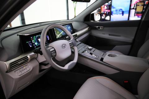 Hyundais nye hydrogenbil klarer 800 km på en fylling