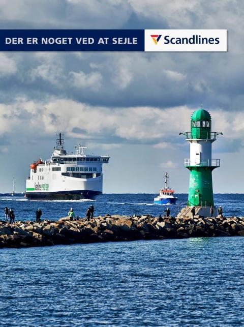 Scandlines Pressemappe dansk