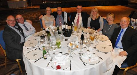 Go North East's Long Service Awards were held at the Hilton