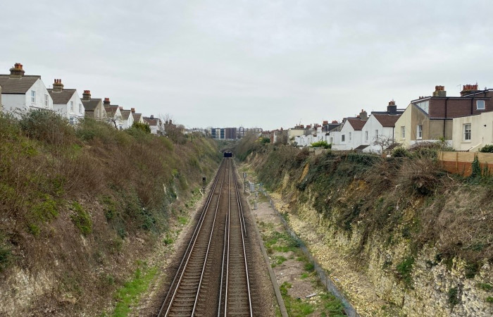 Repairs planned to stabilise a railway cutting in Hove means some changes to train services in September