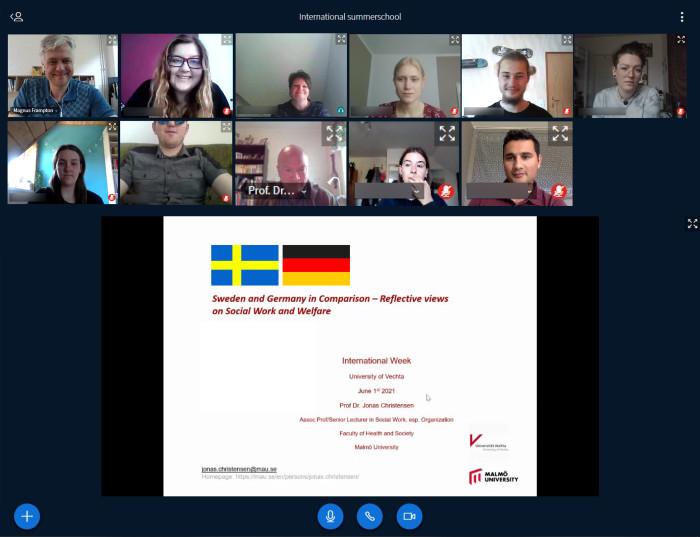 Treffen um 3 Uhr morgens: Uni Vechta verbindet Studierende von USA bis Jordanien für Zusammenarbeit