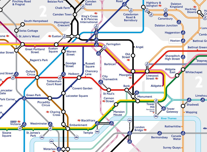 ​Thameslink services set to be temporarily added to latest Tube map to help support customers during the coronavirus pandemic