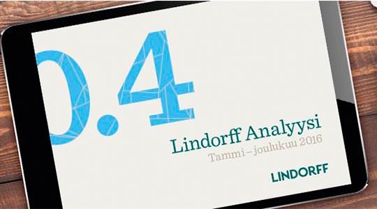 Lindorff Analyysi 2016 on ilmestynyt