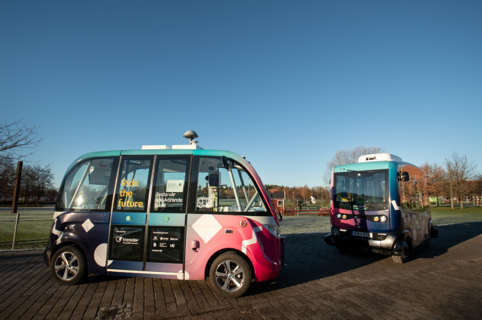 Linköpings självkörande bussar firar ett år