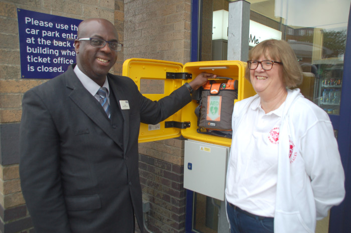 Great Northern lifesaver joins charities to promote use of CPR and defibrillators