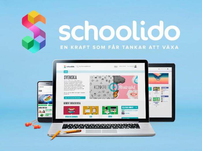 Skolon och lärtjänsten Schoolido i samarbete