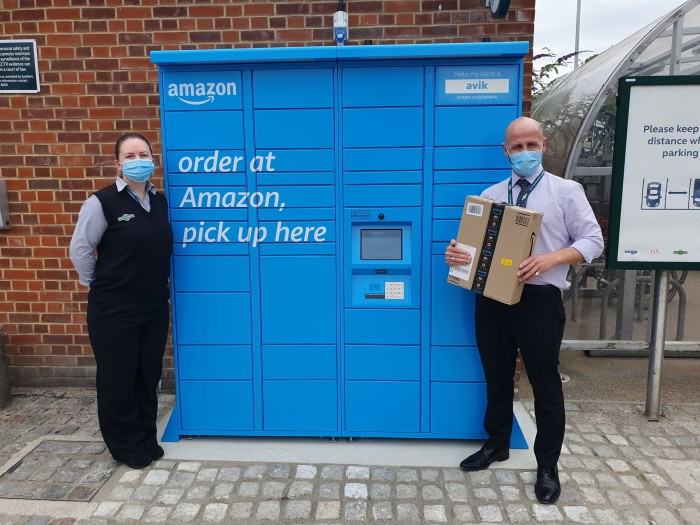 Special delivery! Govia Thameslink Railway kicks off parcel pickup partnership with Amazon