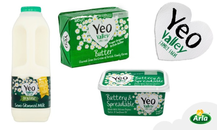 CMA clearance decision for Arla Foods UK and Yeo Valley