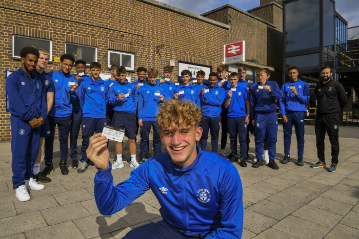 Thameslink and Luton Town Academy announce 14th season in partnership