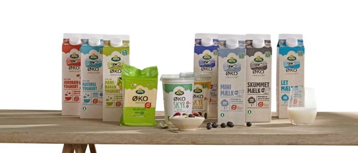 Arla vil øge salget af økologiske mejeriprodukter med 50 pct.
