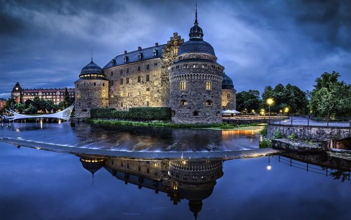 16 företags från 9 länder möts på Örebro slott. Bild: Visit Örebro