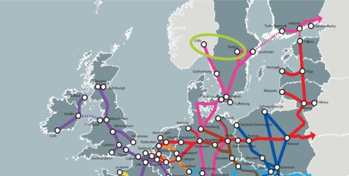 Ten-T nätverk i Europa