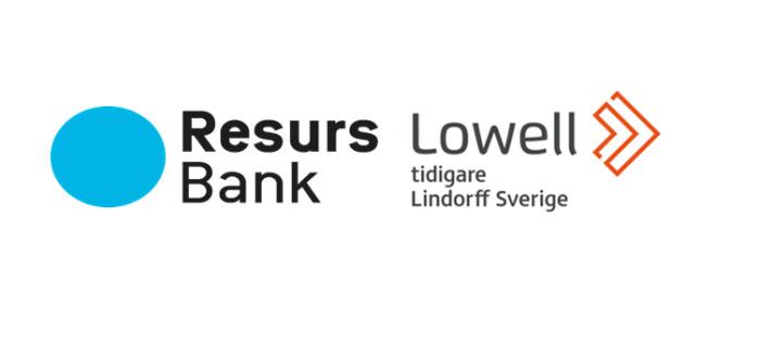 Lowell Sverige inleder samarbete med Resurs Bank