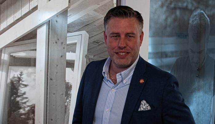 Han blir ny försäljnings- och  marknadschef på Woody Bygghandel