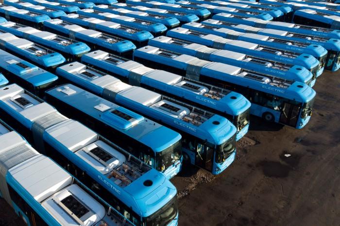 Stor klimatsatning: Transdev förnyar med 400 fossilfria bussar