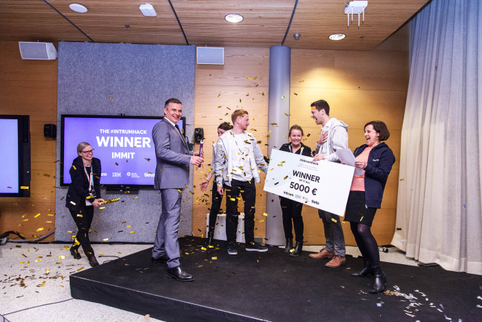 Community based innovation won the Intrumhack challenge