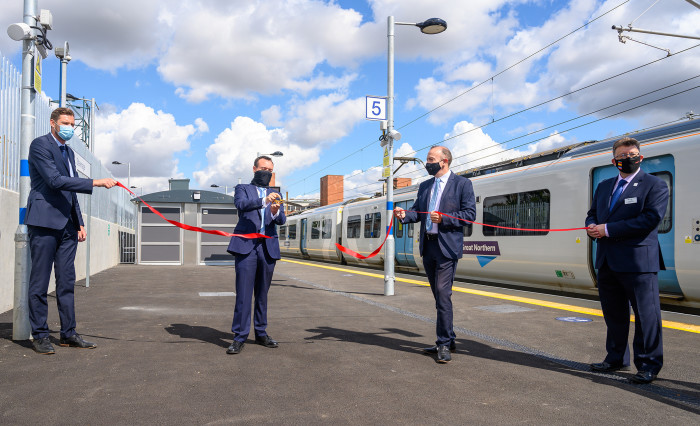 Rail passengers see major service boost with new £40 million Stevenage station platform