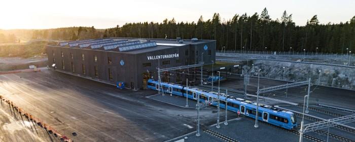 2022 börjar Transdev köra Roslagsbanan