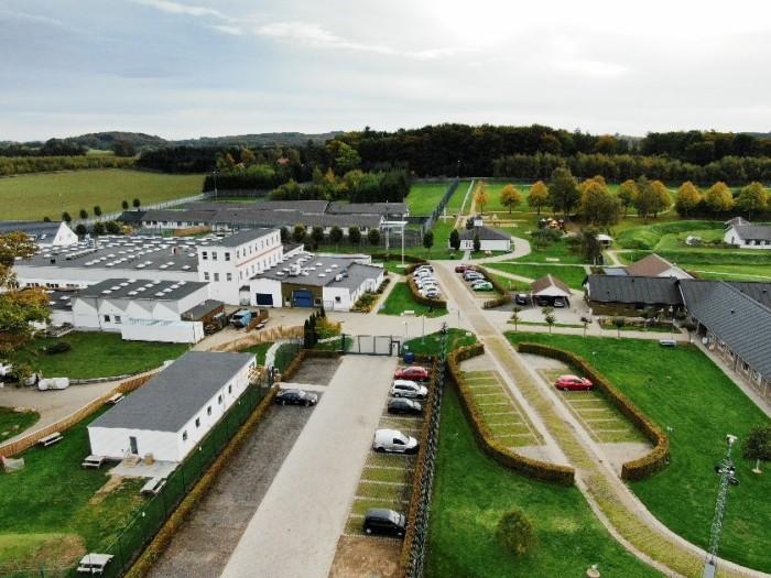 Når Jyderup Kvindefængsel er færdigbygget, vil fængslet have plads til 143 kvindelige arrestanter og indsatte i både åbent og lukket regi.