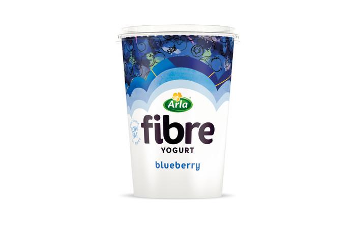 Arla Foods Launches Fibre Yogurt