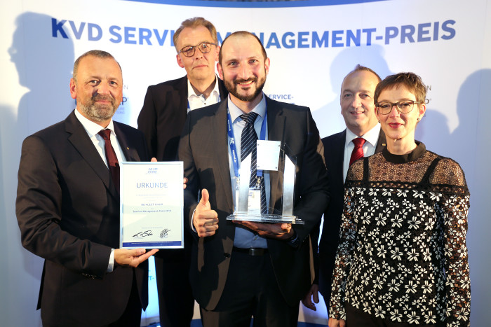 RE'FLEKT GmbH gewinnt KVD Service-Management-Preis