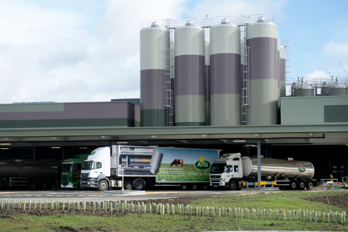 Arla invests a further £37.5 million in its UK sites and logistics
