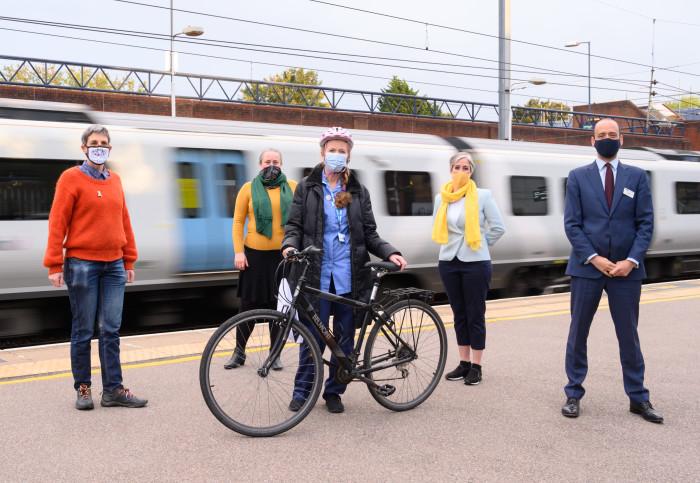 Thameslink helps West Herts NHS nurses win new wheels