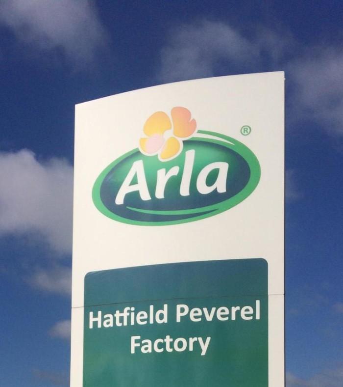 Arla plant Schließung der Molkerei im englischen Hatfield Peverel