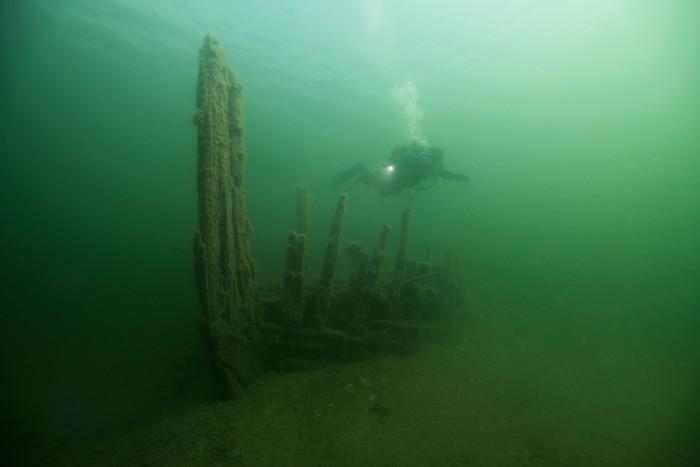 Myndigheter vill minska risken att kulturlämningar i havet skadas