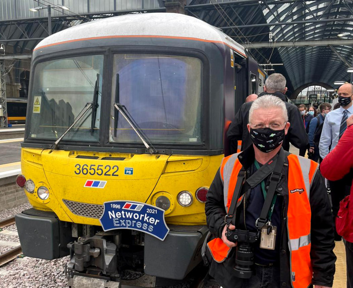 Mark proud to have made and maintained the Class 365s