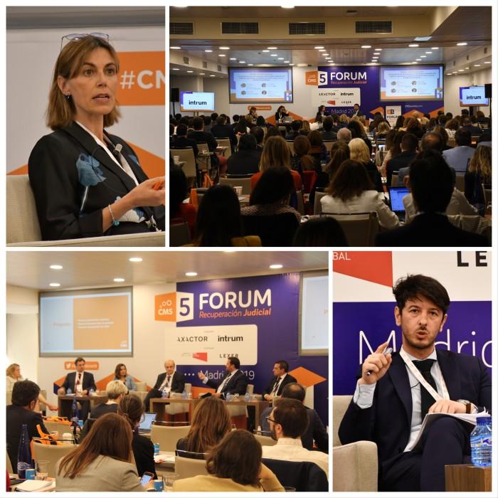 Más de 250 juristas participan en el Foro de Recuperación Judicial con la colaboración de Intrum